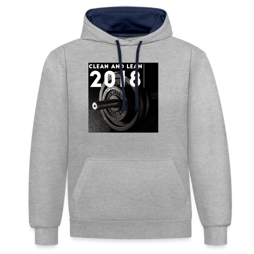 Clean and Lean 2018 - Contrast Colour Hoodie