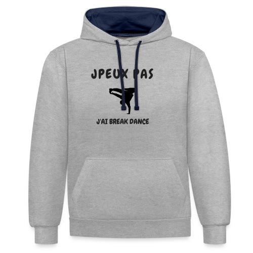 JPEUX PAS J'AI BREAK DANCE - Sweat-shirt contraste