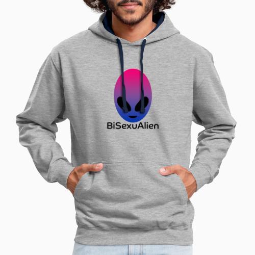 BiSexuAlien - Contrast Colour Hoodie