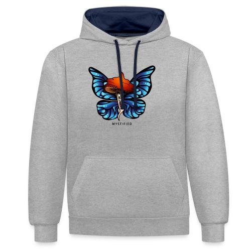 Mystified Butterfly - Contrast hoodie