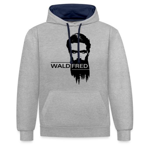 Waldfred - Kontrast-Hoodie