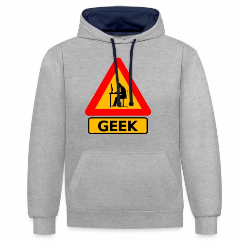 Geek - Sweat-shirt contraste