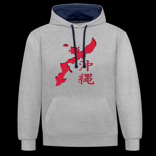 okinawa_05 - Kontrast-Hoodie