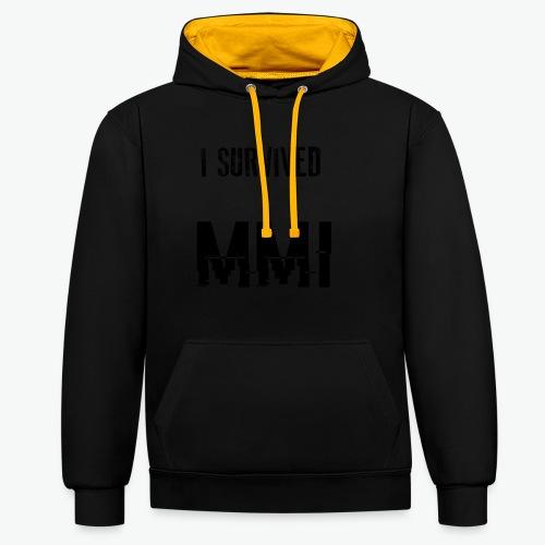 MMI SURVIVOR - Sweat-shirt contraste