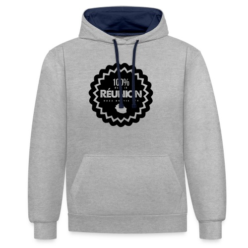 Collection 100% MADE IN REUNION - Sweat-shirt contraste