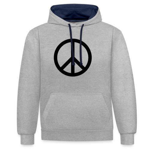 Peace Teken - Contrast hoodie