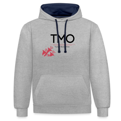 TMO Logo - Contrast Colour Hoodie