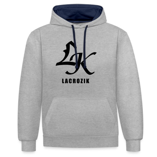 Lacrozik - Sweat-shirt contraste