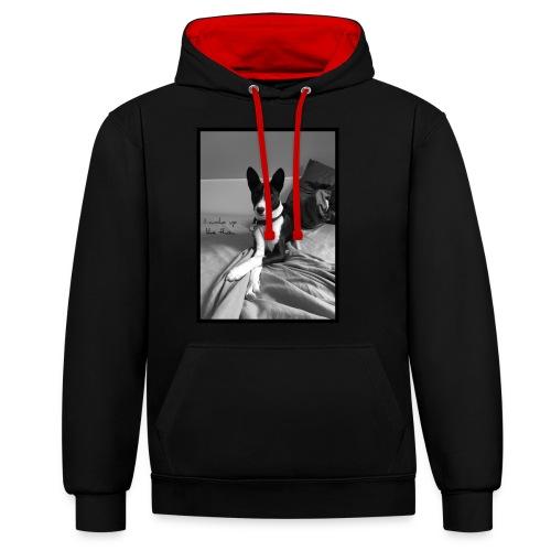 Piratethebasenji - Sweat-shirt contraste