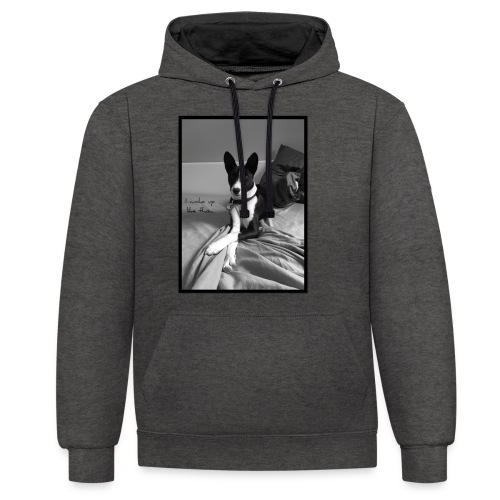 Piratethebasenji - Sweat-shirt contraste
