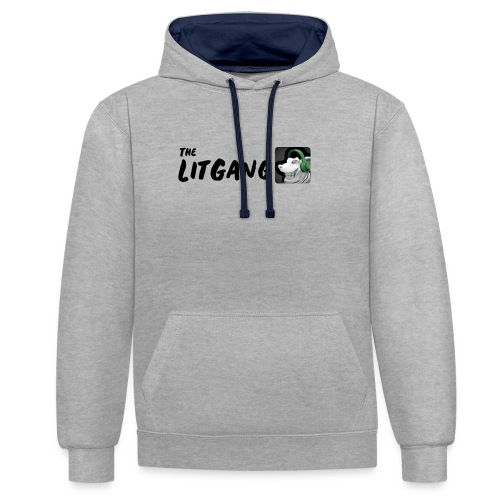 LitGang - Contrast Colour Hoodie