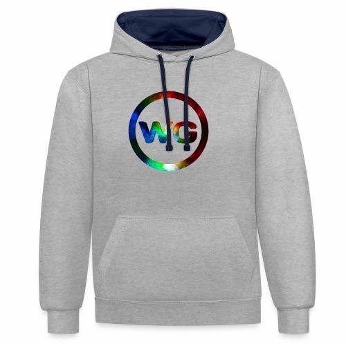 wout games - Contrast hoodie
