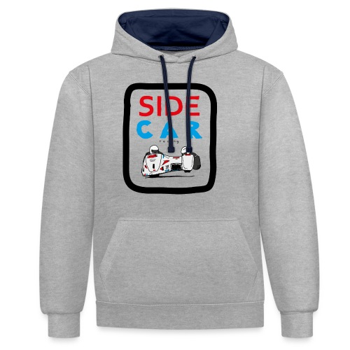 SIDE car racing - Sweat-shirt contraste