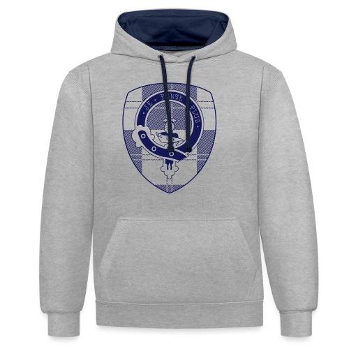 Logo Scouting Erskine 2018 - Contrast hoodie