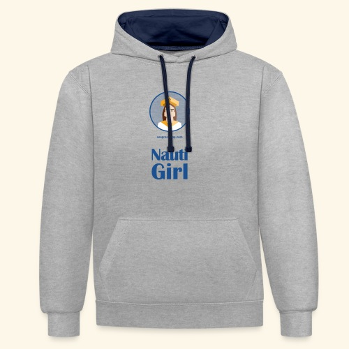 SeaProof Nauti Girl - Kontrast-Hoodie