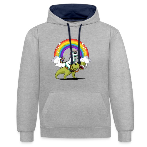 Unicorn Riding Ninja - Kontrastihuppari