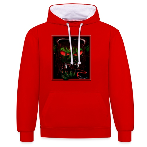 monster - Contrast Colour Hoodie