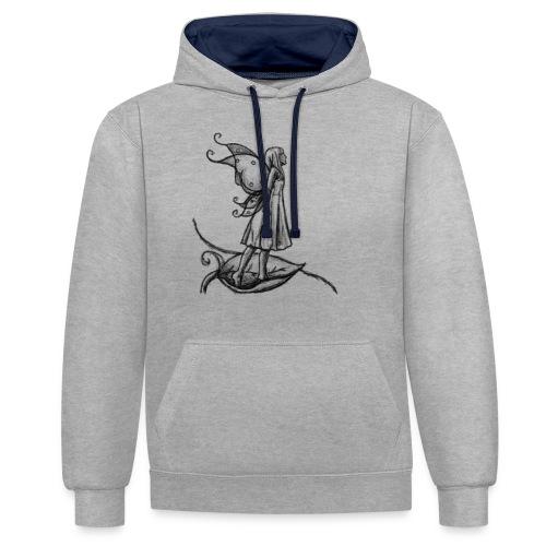 Fée par A.E Ferrets - Sweat-shirt contraste