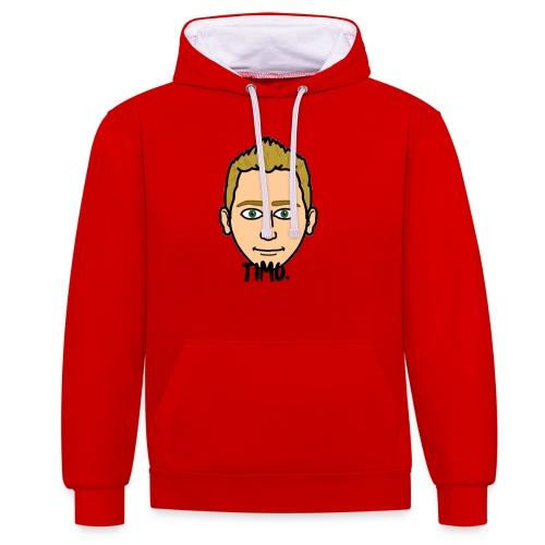 LOGO VAN TIMO. - Contrast hoodie