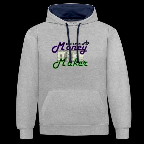 RF MONEY MAKER - Contrast Colour Hoodie