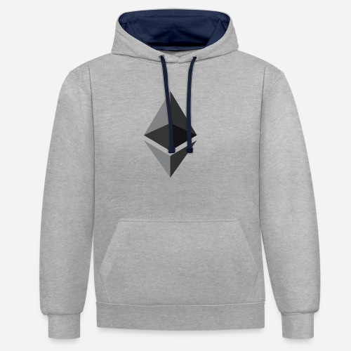 ETH - Contrast Colour Hoodie