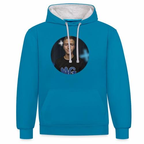 Design blala - Contrast hoodie