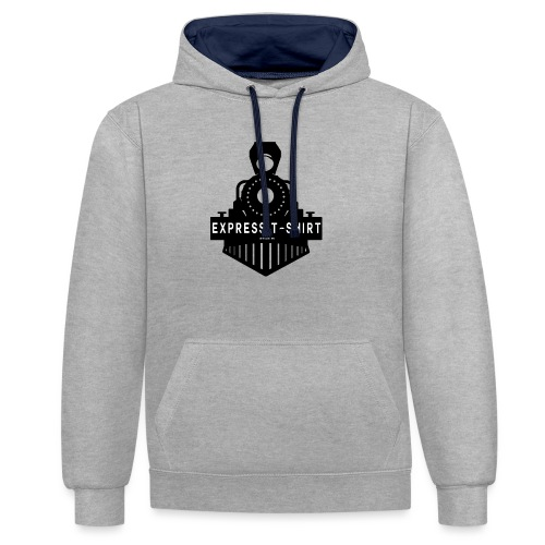 TRAIN EXPRESS T SHIRT - Sweat-shirt contraste