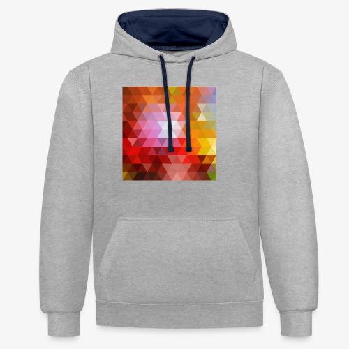 TRIFACE motif - Sweat-shirt contraste