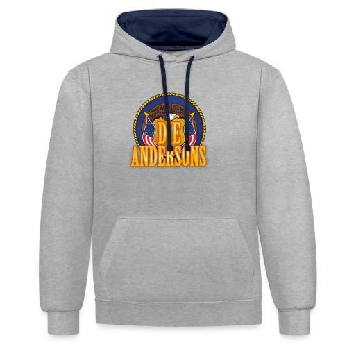 Die Andersons - Merchandise - Kontrast-Hoodie