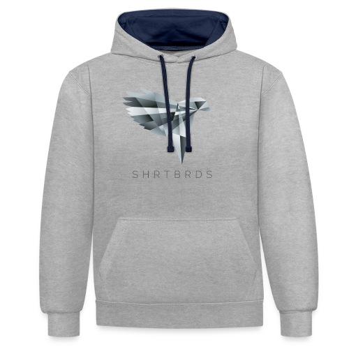 SHRTBRDS - Shirtbirds Polygon - Kontrast-Hoodie