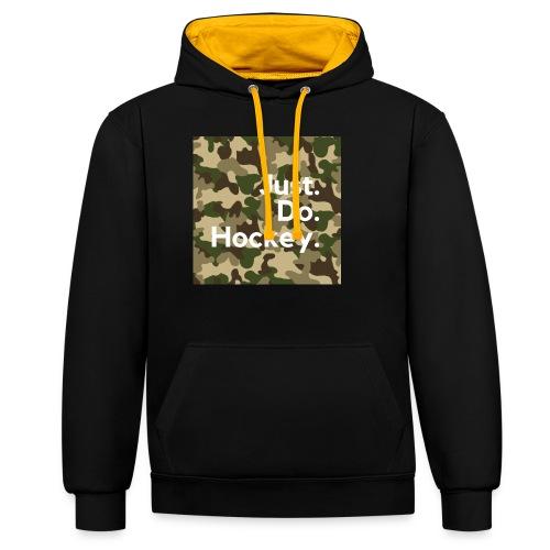 Just.Do.Hockey 2.0 - Contrast hoodie