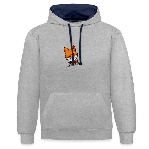 Official T-Shirt - Kontrast-Hoodie