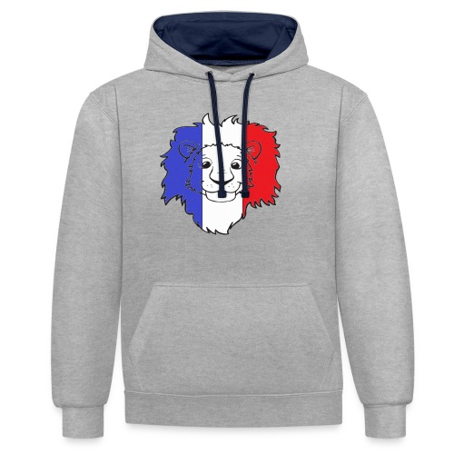 Lion France - Sweat-shirt contraste
