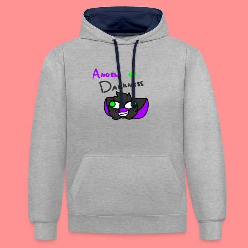Angel Of Darkness - Contrast Colour Hoodie