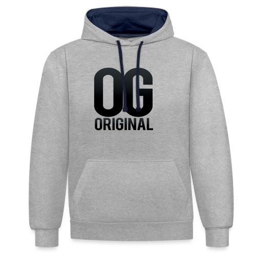 OG as original - Contrast Colour Hoodie