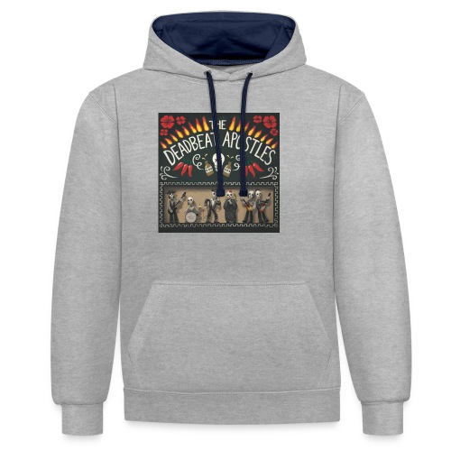 The Deadbeat Apostles - Contrast Colour Hoodie