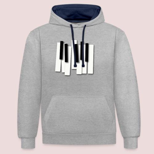 Klaviatur - Kontrastluvtröja