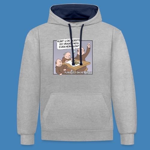 Pubquiz in de Abdij - Contrast hoodie
