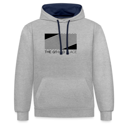 THE GOOOD PLACE LOGO - Contrast hoodie