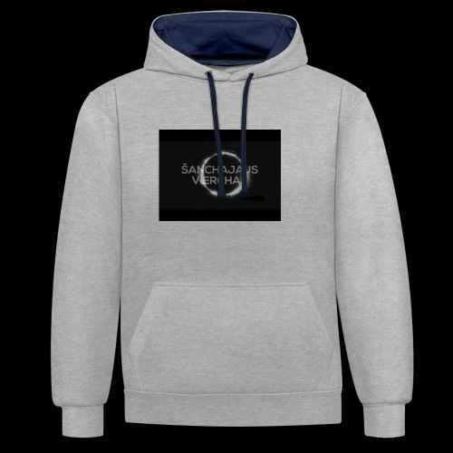 maybach - Contrast Colour Hoodie