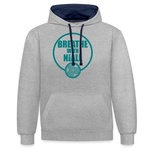 Breath with Niall Tshirt - Contrast Colour Hoodie