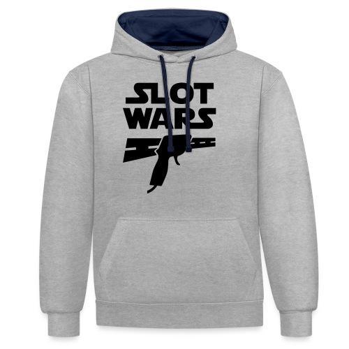 Slot Wars - Kontrast-Hoodie