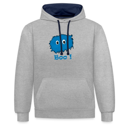 Boo! - Contrast Colour Hoodie