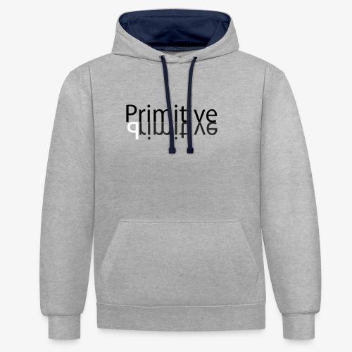 Primitive36 - Kontrast-Hoodie