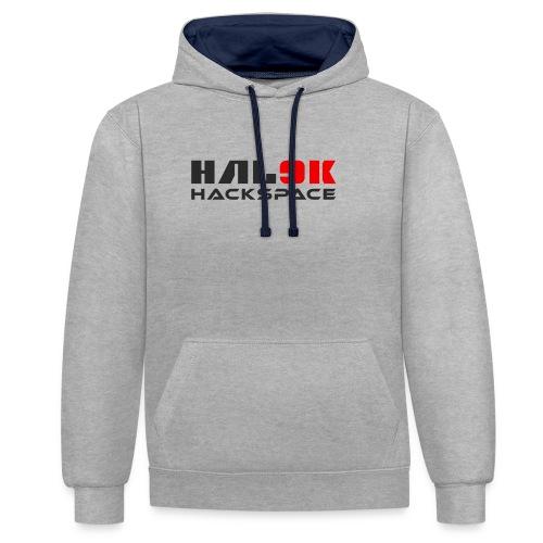 hal9k-hackspace - Kontrast-hættetrøje