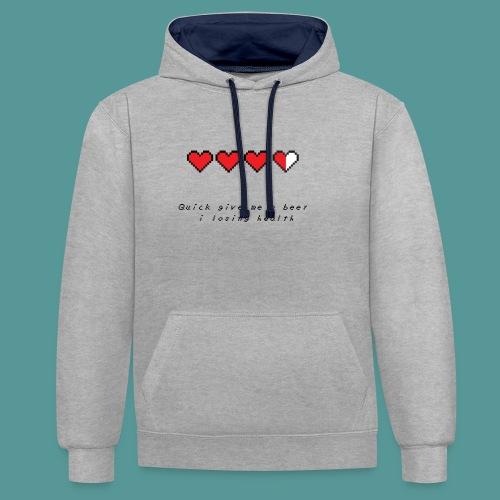 The Legend of Drunk - Contrast hoodie