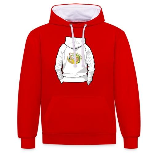 hoodyback - Contrast hoodie