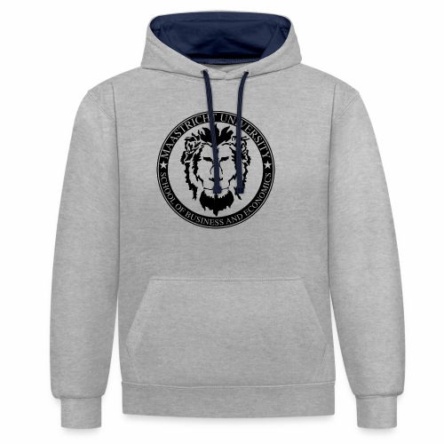 SBE Lion Black - Contrast Colour Hoodie