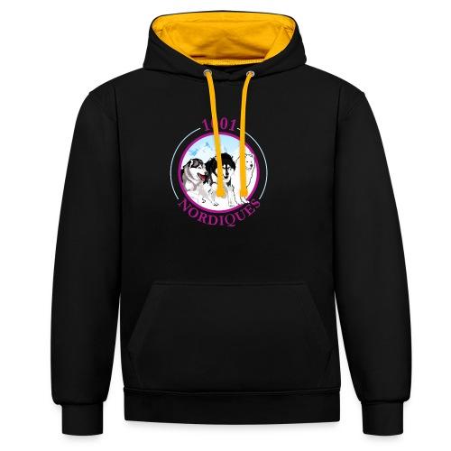 1001 Nordiques - Sweat-shirt contraste