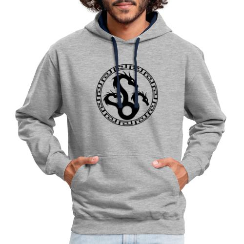 Hydra - Contrast Colour Hoodie